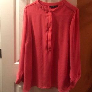 Pretty Pink Sheer Blouse By APT.9